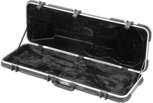 SKB 1SKB-66 ABS Rectangular Electric Guitar Case for Strat/Tele