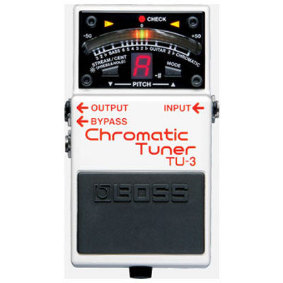 Boss TU-3 Chromatic Stompbox Tuner - Quest Music Store