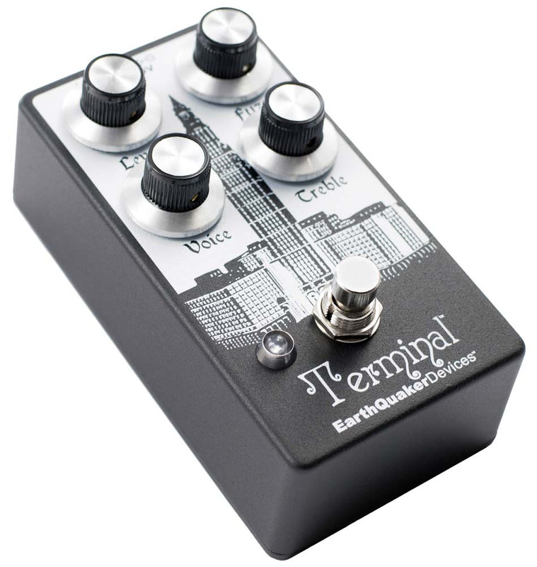 EarthQuaker Terminal Destructive Fuzz Device V2 - Quest Music Store