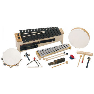 Suzuki Junior Orff Starter Set, 10 Instruments - Quest Music Store
