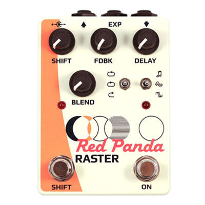 Red Panda Labs - Raster Pitch-Shifting Delay - Quest Music Store