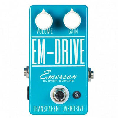 Emerson EM-Drive Transparent Overdrive - Quest Music Store