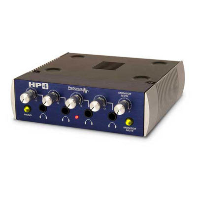 PreSonus HP4 Discrete 4-Channel Headphone Amplifier