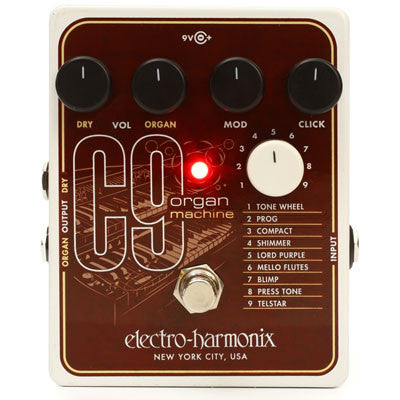Electro-Harmonix C9 Organ Machine Pedal - Quest Music Store