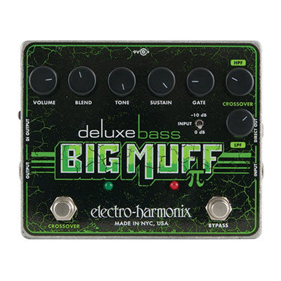 Electro-Harmonix Deluxe Bass Big Muff Fuzz/Distortion Pedal - Quest Music Store