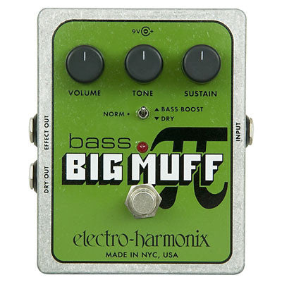 Electro-Harmonix Bass Big Muff Pi Distortion/Fuzz Pedal - Quest Music Store