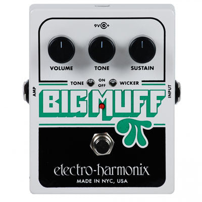 Electro-Harmonix Big Muff Pi with Tone Wicker Distortion Pedal - Quest Music Store
