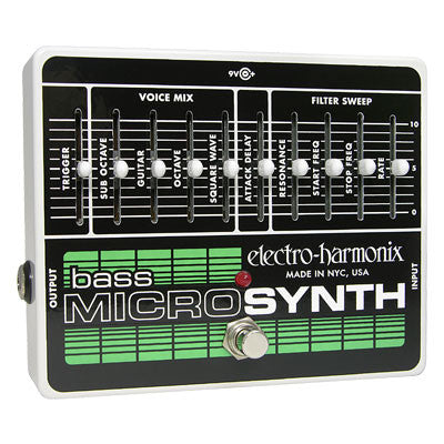 Electro-Harmonix Bass Micro Synth Analog/Synthesizer Pedal - Quest Music Store