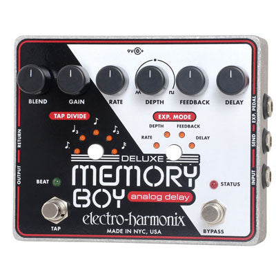Electro-Harmonix Deluxe Memory Boy Analog Delay Pedal - Quest Music Store