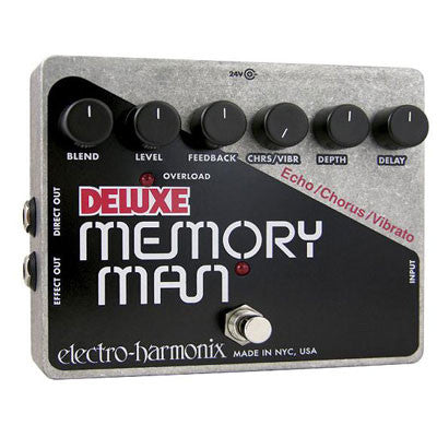 Electro-Harmonix Deluxe Memory Man Analog Delay Pedal - Quest Music Store