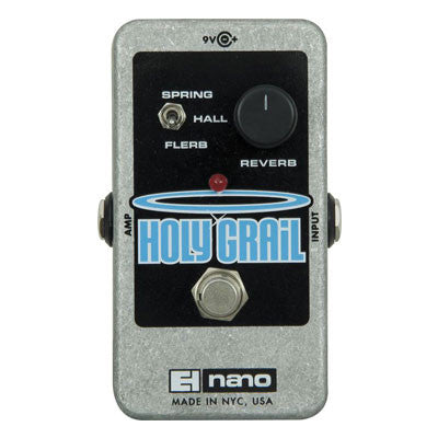 Electro-Harmonix Holy Grail Reverb Pedal - Quest Music Store