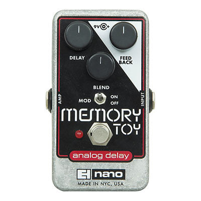 Electro-Harmonix Memory Toy Analog Delay Pedal - Quest Music Store