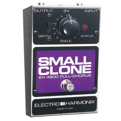 Electro-Harmonix Small Clone Analog Chorus Pedal - Quest Music Store