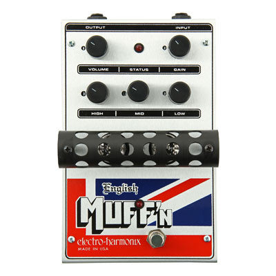 Electro-Harmonix English Muff'n Overdrive Pedal - Quest Music Store