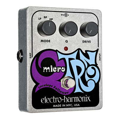 Electro-Harmonix Micro Q-Tron Envelope Filter Pedal - Quest Music Store