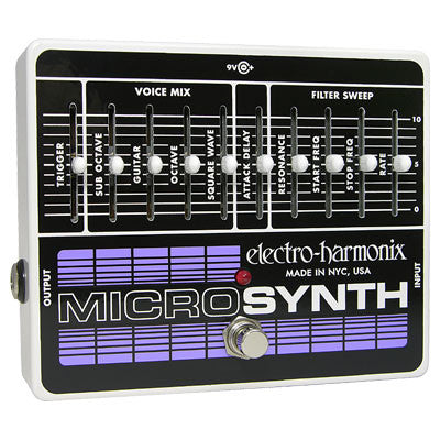 Electro-Harmonix Microsynth Analog Guitar Synthesizer Pedal - Quest Music Store