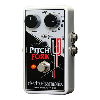 Electro-Harmonix Pitch Fork Polyphonic Pitch Shifter Pedal - Quest Music Store