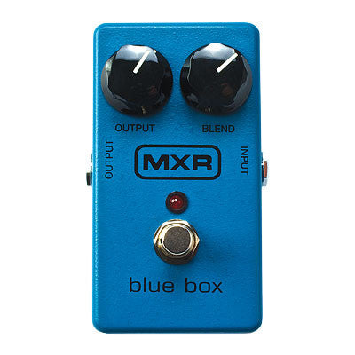 MXR Blue Box Octave Fuzz Pedal - Quest Music Store