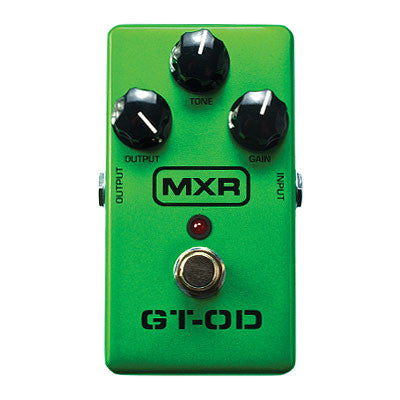 MXR GT-OD Overdrive Pedal - Quest Music Store