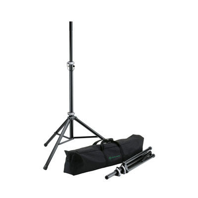 K&M Speaker Stand Package - 21459-Black - Quest Music Store