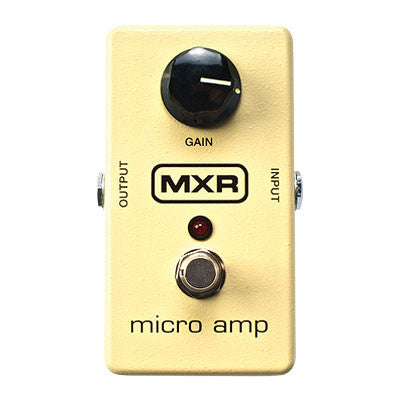 MXR Micro Amp Boost Pedal - Quest Music Store