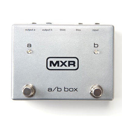MXR A/B Box Signal Switcher Pedal - Quest Music Store