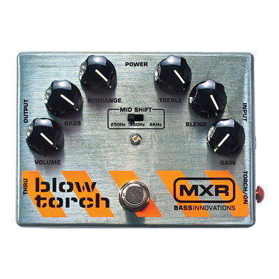 MXR Bass Blowtorch Overdrive Pedal - Quest Music Store