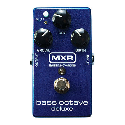MXR Bass Octave Deluxe Pedal - Quest Music Store