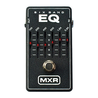 MXR 6-Band Graphic Equalizer Pedal - Quest Music Store