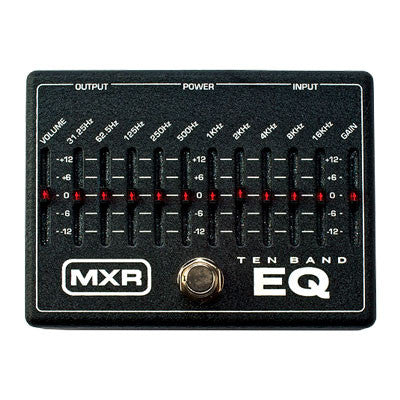 MXR Ten Band Graphic Equalizer - Quest Music Store