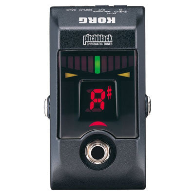 Korg Pitchblack Pedal Tuner - Quest Music Store