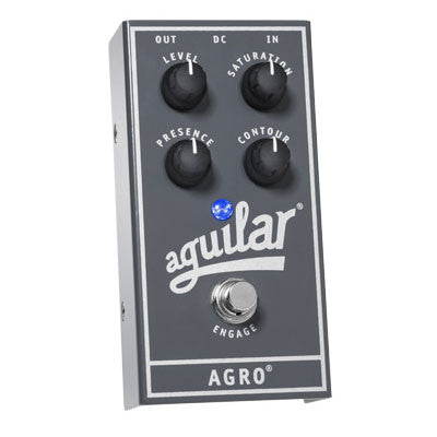 Aguilar Agro - Bass Overdrive Pedal - Quest Music Store
