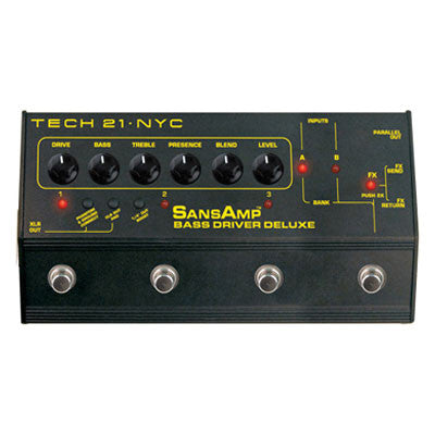 Tech 21 - SansAmp Bass Driver Deluxe Pedal