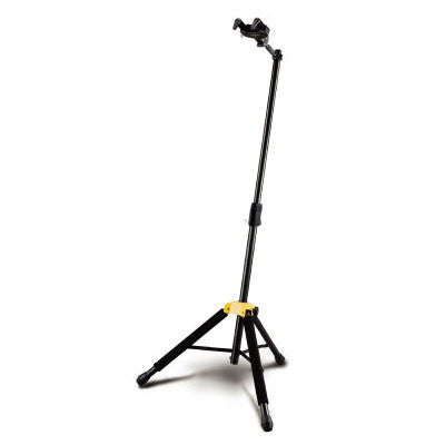 Hercules Folding Yoke Guitar/Bass Stand - GS415B - Quest Music Store