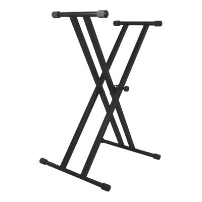 On-Stage Classic Double Brace Keyboard Stand - Quest Music Store