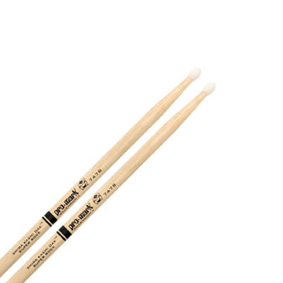 "ProMark Drumsticks - Shira Kashi Oak 747B ""Super Rock"" Nylon Tip"