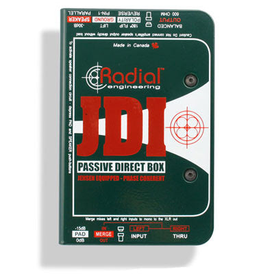 Radial JDI Passive Direct Box - Quest Music Store