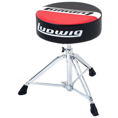 Ludwig Drums - Atlas Pro Round Drum Throne - Quest Music Store