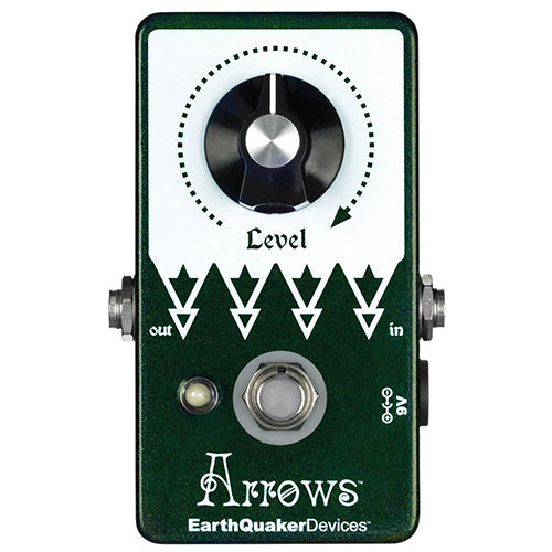 EarthQuaker Arrows Preamp Booster - Quest Music Store