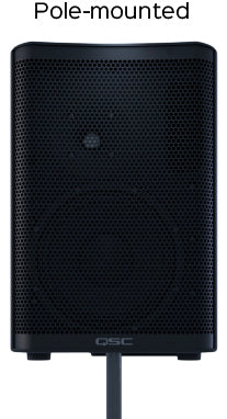 QSC CP12 1000w Powered Speaker