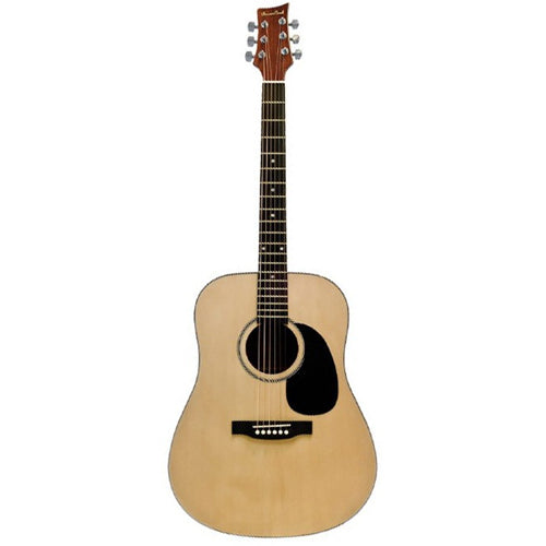 Beaver Creek BCTD101 Dreadnought Acoustic Guitar, Natural