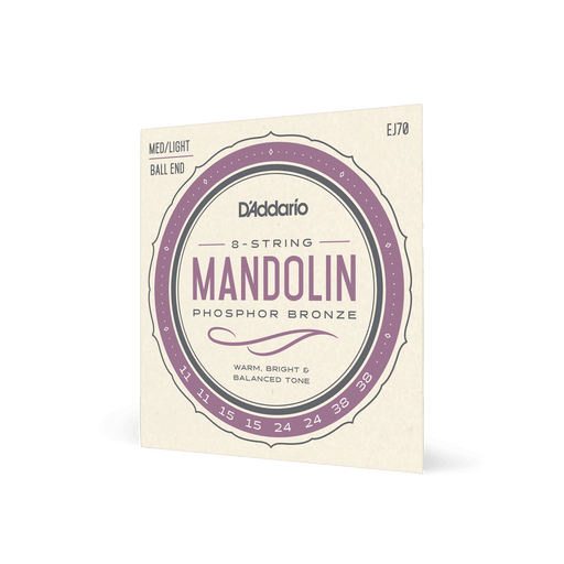 D'Addario EJ70 - Mandolin Strings - Ball End