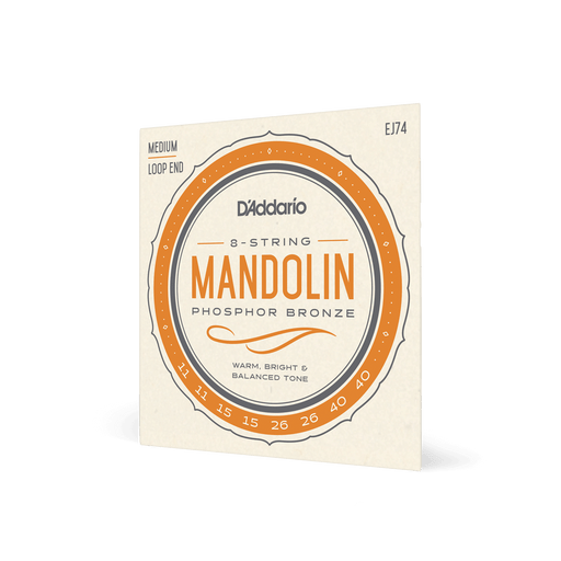D'Addario EJ74 - Madolin Strings - Medium