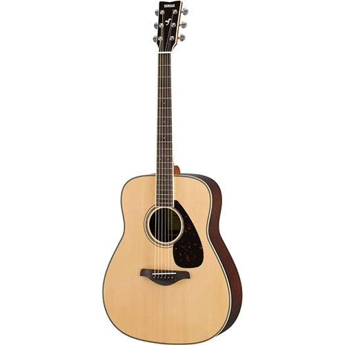 Yamaha FG Series FG830 Acoustic Guitar, Natural