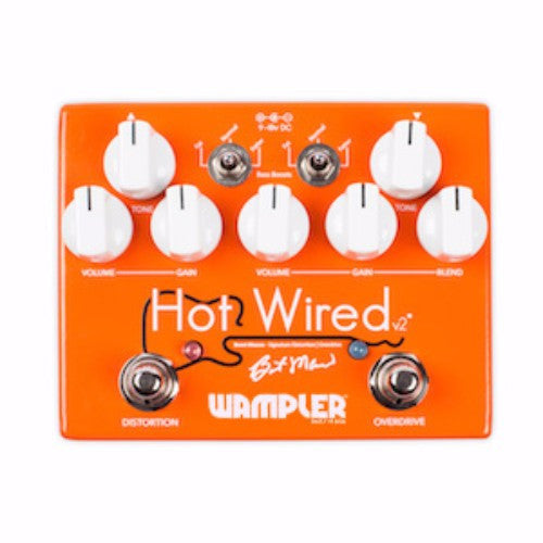 Wampler Pedals - Hot Wired Overdrive V2
