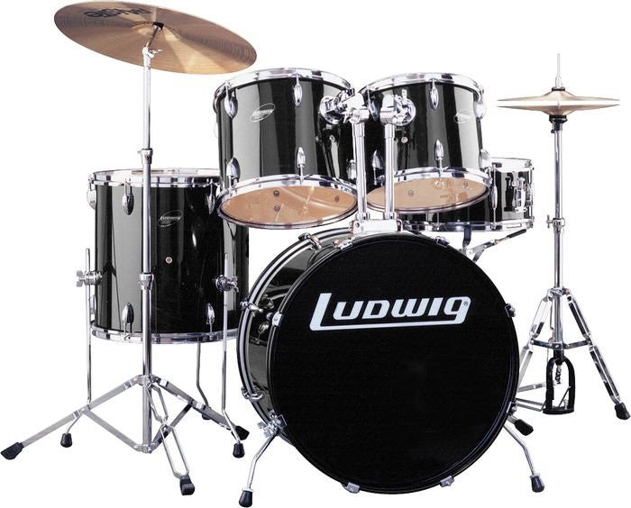 "Ludwig Drums - Accent Fuse 20"" 5-Piece Drum Kit"