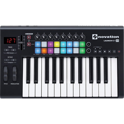 Novation Launchkey MK2 25-Key MIDI Controller