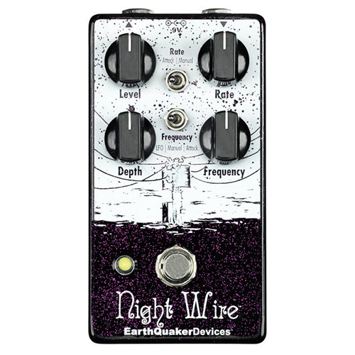 EarthQuaker Night Wire Wide Range Harmonic Tremelo - Quest Music Store