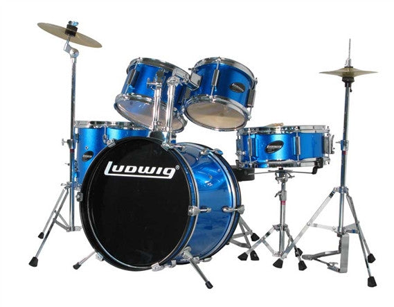 Ludwig Drums - Junior Outfit Complete Drum Kit - Quest Music Store