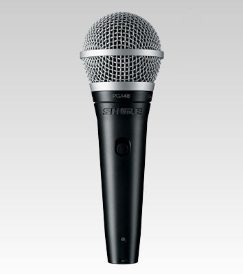 Shure PGA48 Cardioid Dynamic Vocal Microphone - Quest Music Store